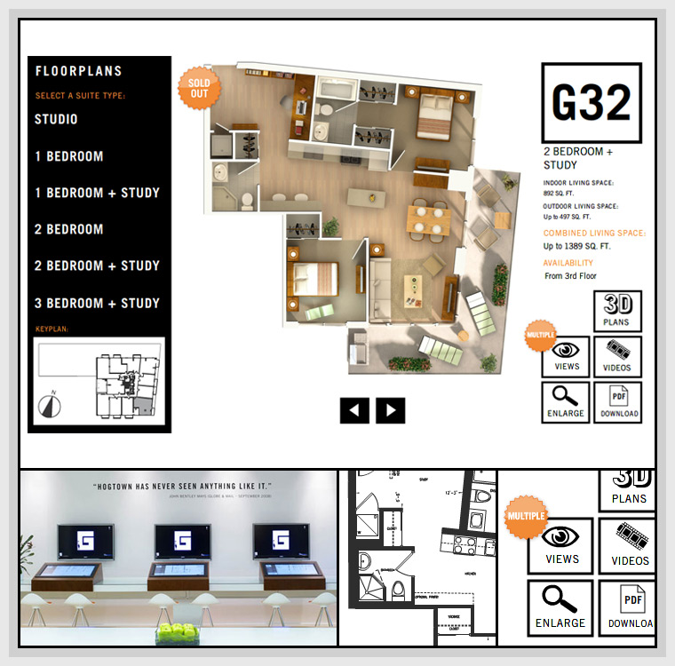 Giraffe Floorplans Application (2008) - Design, Flash, Actionscript, XML