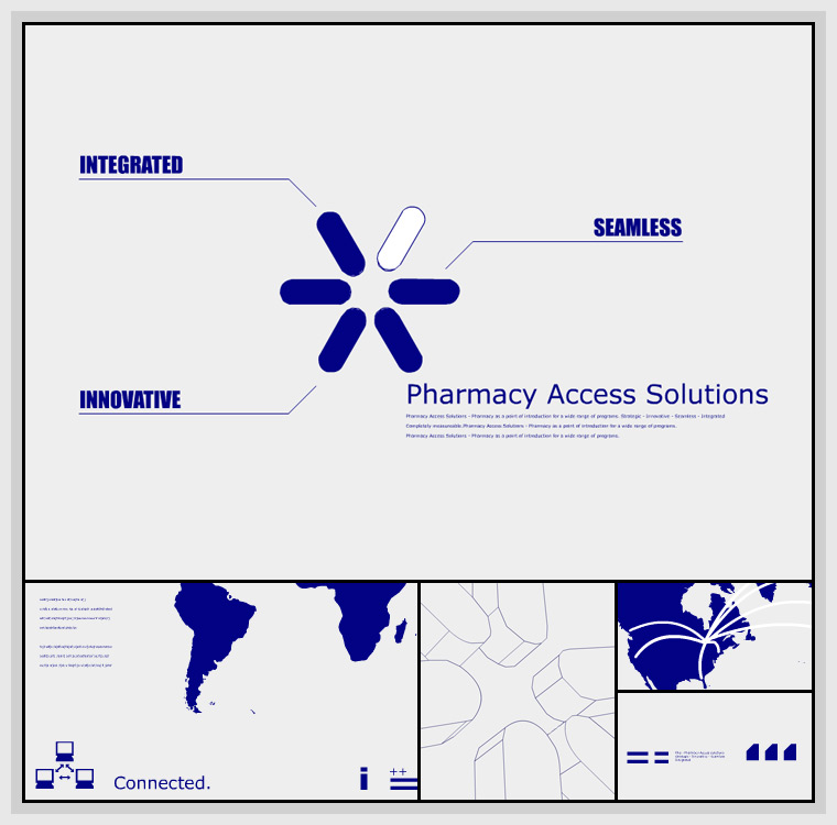 Pharmacy Access Solutions (2003) - Design, Flash, Actionscript, Javascript